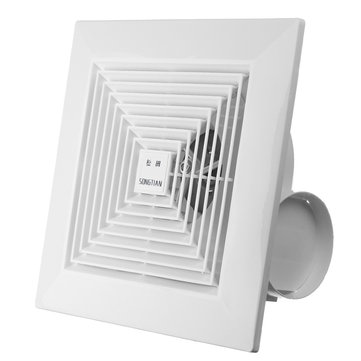 KHG-16B 38W 8 Inch Exhaust Fan Ceiling Wall Mount Exhaust Fan For Home Ventilation Bathroom Garage