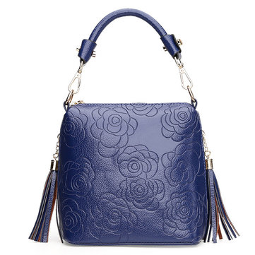 Women Embroidery Floral Socialite Elegant Retro Handbag Crossbody Bag
