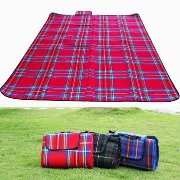 Camping Hiking 150 x 200cm Ground Mat Tent Picnic Mat Pad Sleeping Plaid Mat