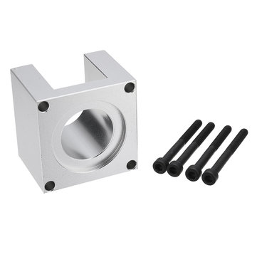 HANPOSE Aluminum Nema23 Motor Mounting Bracket with 4pcs Screw Base Support For 57 Stepper Motor