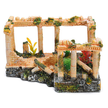 Ancient Roman Ruins Ornament Dollhouse Decoration Gift Toys 23*16*12.5cm