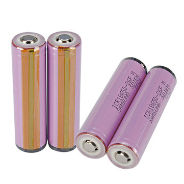 4PCS 3.7V 2600mah Button Top Protected