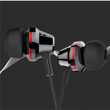Cafele Metalic Stereo Super Bass In-ear Earphone with Mic Musical Headphone
