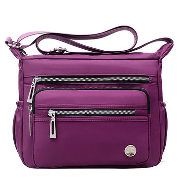 Nylon Multi-layer Mummy Bag Shoulder Bag Messenger Bag