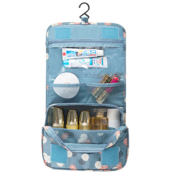 IPRee® Outdoor Travel Wash Bag Portable Waterproof Cosmetic Makeup Organizer Storage Bag With Hook