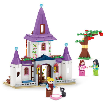 Kazi Cinderella Castle Building Block Sets Toys Educational Gift Fidget Toys 98705 315Pcs