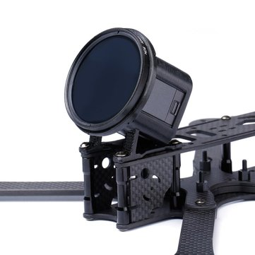 Original iFlight 3D Printed TPU Camera Mount 30 Degree for GoPro Session w/ ND 52mm Lens Filter for RC Drone