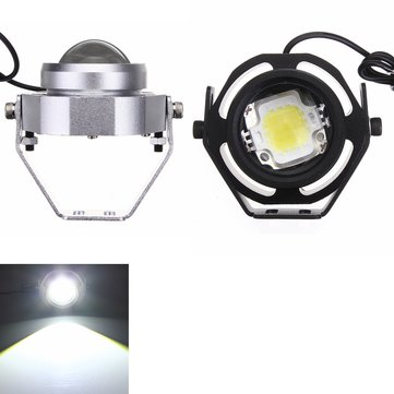 10W Motorcycle COB LED Cool White DRL Fog Light Eagle Eye Light