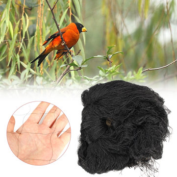 Garden Black Anti Bird Net Fruit Tree Protecting Mesh Poultry Aviary Pond Net