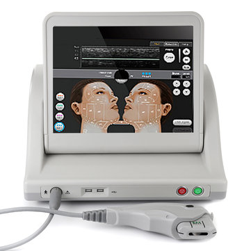 HIFU Intensity Focused Ultrasound Facial Lifting Anti Wrinkle Beauty Machine Skin Rejuvenation