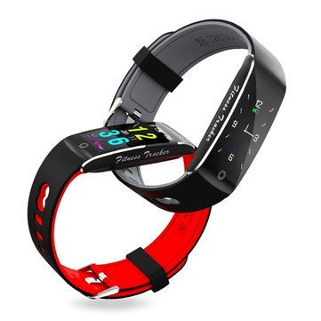 Bakeey F10 Color Screen Blood Pressure Heart Rate Monitor Fitness Tracker Sport Bluetooth Smartband