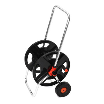 Garden Hose Reel 45M for 1/2'' Hose or 35M for 5/8'' Hose Storage Aluminium Tube