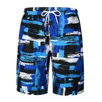 Painting Printing Loose Summer Casual Beach Holiday Board Shorts for Men