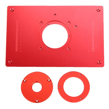Red 200x300x10mm aluminum router table insert plate for woodworking red 200x300x10mm aluminum router table insert plate for woodworking engraving machine greentooth Image collections