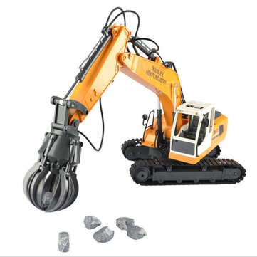 DOUBLE EAGLE E561-001 1/16 17Channel Construction Tractor Alloy Excavators RC Car Toys