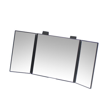 SHUNWEI® Car VehiclE Mounted Makeup Mirror Interior Folding Sun Visor Vanity Mirror