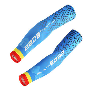 1Pair Men Women Sunscreen Cycling Fishing Cooling Arm Sleeve