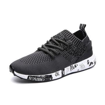 МужчиныComfortableШаблонВязаныекружевныеатлетические туфли