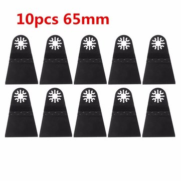 10pcs 65mm High Carbon Steel Saw Blade for Multifunction Finishing Machine