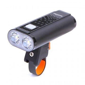 Magicshine Monteer 1400 Lumens Mini Bike Light All In One USB Bike Headlight 2LED Cycling Bike Light