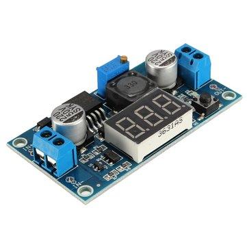 10 Adet LM2596 DC-DC Voltaj Regülatörü Ayarlanabilir Adım Düşürme Güç Kaynağı Modülü Ekran
