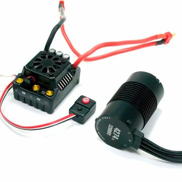 Hobbywing EzRun Max8 v3 150A Waterproof Brushless ESC T/TRX Plug+2200KV Motor For 1/8 RC Car Parts