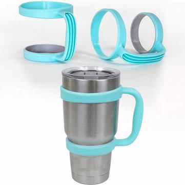 30 Oz YETI Bardak Tutacağı İçin Mavi Kol Seyahat Rambler Coffee Kadehi Drinkware