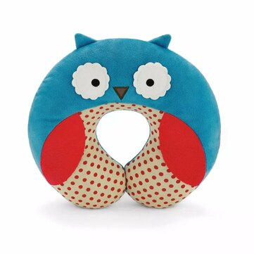 Children Kids Baby Plush Pillow U Shape Head Rest Neck Protector Cushion Car Seat Travel