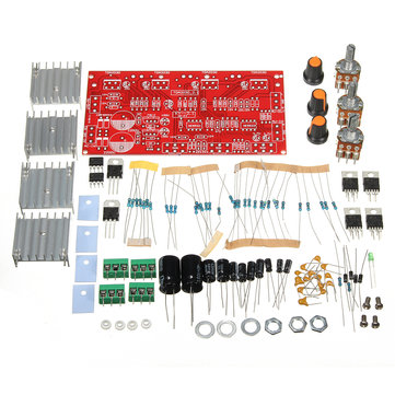 DIY 12V 30W TDA2030 Audio Power Amplifier Board Dual Tracks Subwoofer Kit