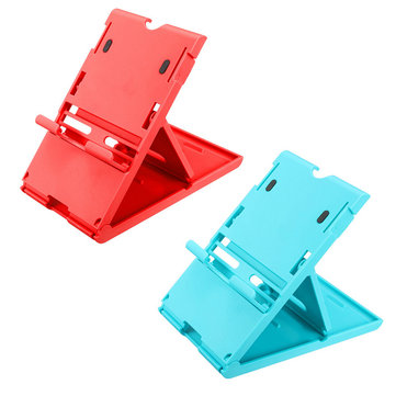 Blue Red Adjustable Holder Support Stand Frame Bracket for Nintendo Switch