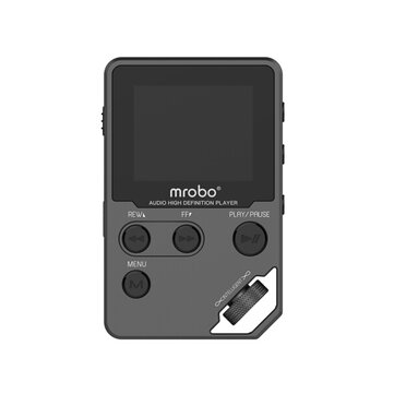 Mrobo C5 1.8 Inch TFT Screen 8GB DAC HIFI Lossless MP3 Music Player Voice Record