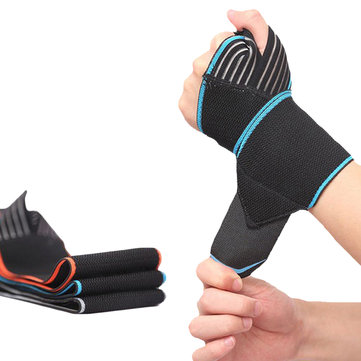 1Pcs Wrist Support Hand Bandage Wristband Weightlifting Bracers Sports Fitness Training Protector