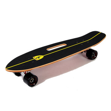 Ferrari FBW32 Portable Cruiser Skateboard Non-slip Wood Panel Skate Scooter Aluminum Alloy Holder