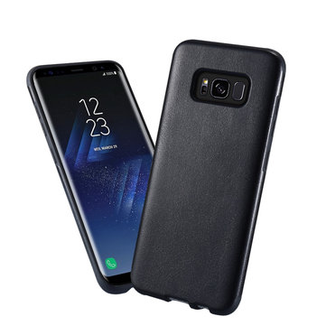 KISSCASE Hybrid Soft TPU + PU Leather Ultra Thin Cover Case for Samsung Galaxy S8