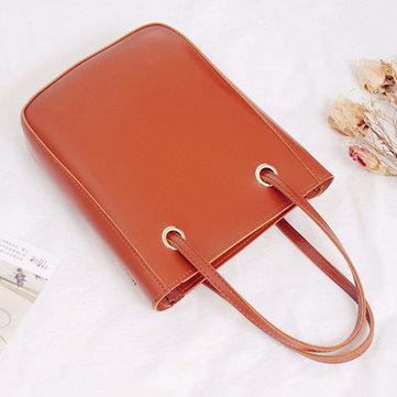 Women PU Leather Daily Use Handbag Dating Crossbody Bag