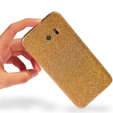 Colorful Scrub Flashing Diamond Body Phone Skin Sticker Protection For Samsung Galaxy S6 Edge Plus