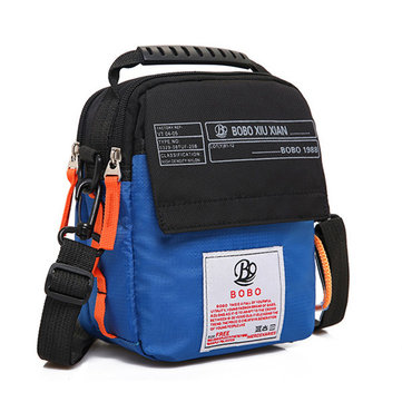 Men Nylon Waterproof Casual Lightweight Crossbody Bag