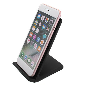 Wireless Qi Fast Charger Dual Coils Phone Stand with Fan for iPhone for Samsung