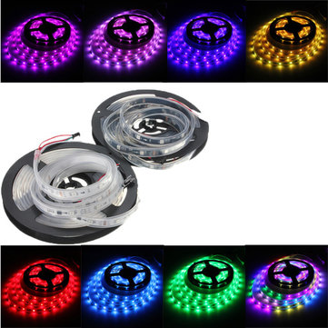 WS2811 5M LED Strip 150 SMD 5050 LED RGB Dream Color Strip กันน้ำ IP65 DC 12V