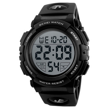 SKMEI 1258 Outdoor Sport Fashion Men Multifunction Chronograph Waterproof Digital Watch