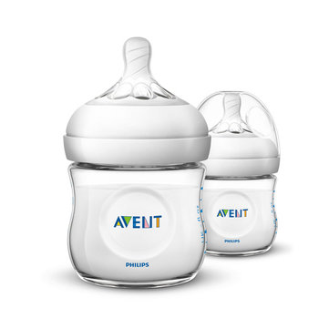 AVENT 2pcs 125ml Baby Feeding Bottle Infant Natural Polypropylene Milk Bottle Fruit Drinkware