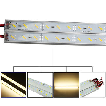 50cm IP68 9W SMD 7020 36LED Warm White LED Rigid Strip Swimming Pool 12V