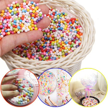 Styrofoam Foam Balls Beads For Slime Polystyrene DIY Balloon Decoration