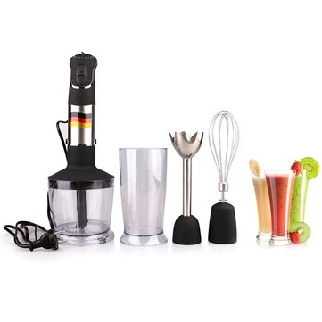 GERWELL MQ735 850W GERMAN Motor Technology Electric Hand Blender Smart Stick Food Processors