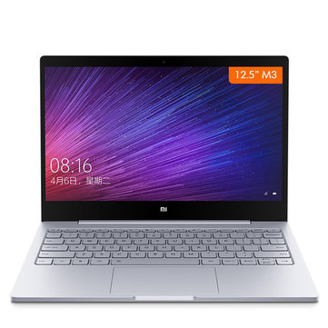 Original Xiaomi Mi Notebook Air 12.5 Inch Windows 10 7th Intel Core m3-7Y30 4GB RAM 128GB SSD Laptop Laptops & Accessories from Computer & Networking on banggood.com