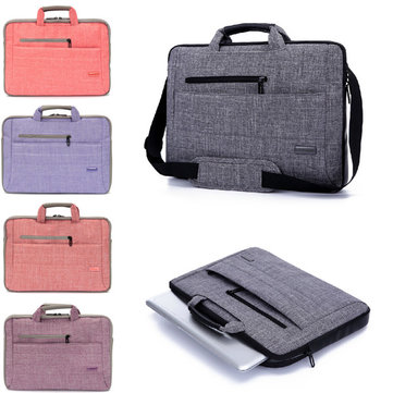 15 inch Laptop PC Shoulder Bag Pouch Carrying Soft Notebook Case