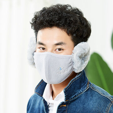Winter Anti Dust Earmuffs Windproof Mouth Mask