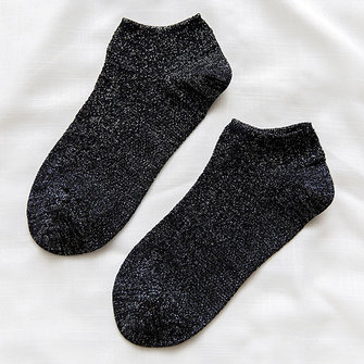 Cotton Plain Ankle Socks Low Cut Boat Slippers Socks
