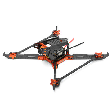 Realacc Real1 220mm 5 Inch 4mm Vertical Arm Carbon Fiber Frame for RC Drone(28% off coupon: 28rc)