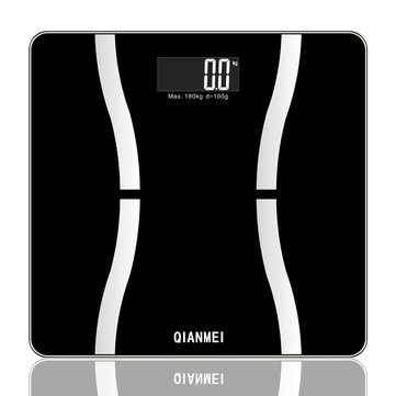 QIANMEI 150Kg Smart App Weight Large LCD Digital Electronic Body Fat Scale